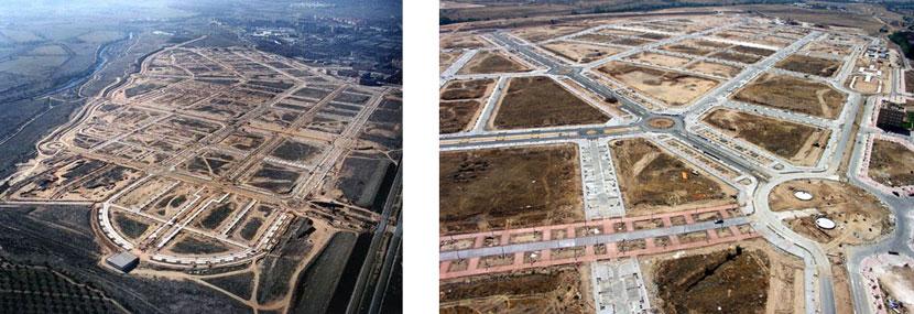 34: Estado de las obras en agosto 2005