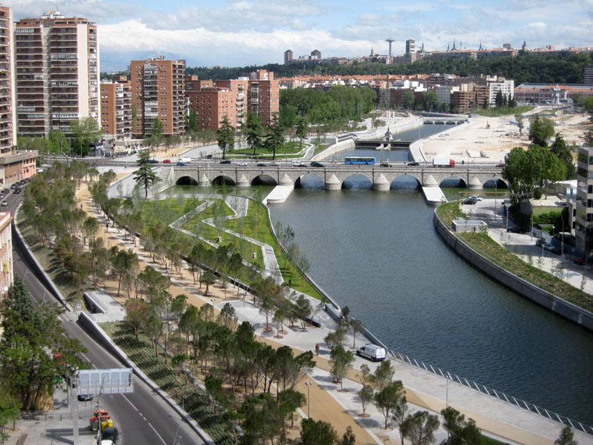 Urban e parque del r o manzanares madrid burgos for Barrio ciudad jardin madrid