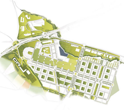 Figura 5. Sistema de paisaje en Sarriguren